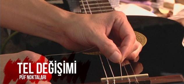 gitar teli nasıl değiştirilir